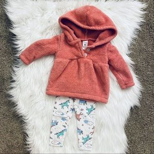 6M Carter's Baby Girl Matching set